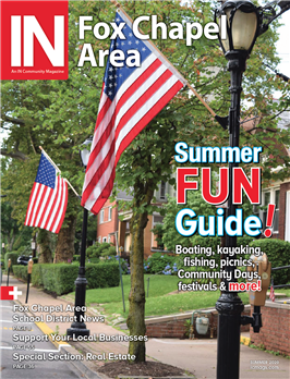 IN Fox Chapel Area magazine cover summer 2020